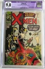 X-MEN #23 CGC 9.0 C1 VF/NM / COUNT NEFARIA SCARECROW EEL UNICORN / MARVEL 1966
