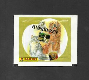Panini Domestic Pets Unopened Packet wrapper -  Huis Dieren variant