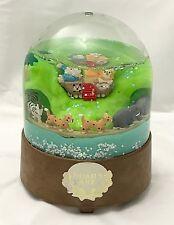 Kurt Adler Noah's Ark Snow Globe Vintage 1988 Snowdome Snowglobe