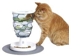 Catit Senses Futterlabyrinth für Katzen Intelligenz-Spielzeug Napf Clever Futter
