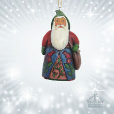 Hanging Ornament Santa Bag Folklore Jim Shore Tasche Nikolaus Vintage 4058771