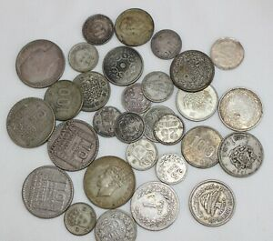 4.5 Troy Oz .600 Silver Content Coins Mixed Lot Asst Dates Grades Countries