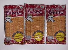 Bento Squid Seafood Snack Sweet & Spicy 0.7 oz 3 Pack Grocery *USA Seller*