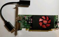 Dell AMD Radeon R5 240 Video Card Windows 10 1GB PCIe x16 DVIDisplayPort HDMI