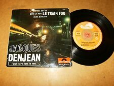 JACQUES DENJEAN - EP FRENCH POLYDOR 27109 - ROCK JAZZ POPCORN