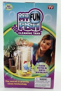 """My Fun Fish Cleaning Tank """"The Aquarium That Cleans Itself *just Add Water"""" New!"""