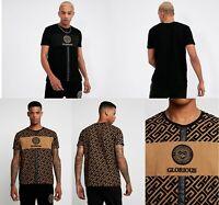 Glorious Gangsta Yakuza Mens T Shirt Jersey Gym Flock Velvet Top Muscle Casual