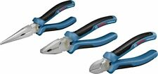 Bosch Professional Plier Set of 3 Long Nose, Combination, Diagonal Side Cutter