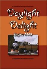Daylight Delight Engine 4449 DVD NEW Hopewell Southern Pacific SP Shasta Route