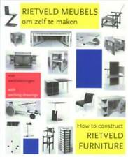 NEW How to Construct Rietveld Furniture (Dutch Edition) by Peter Drijver