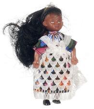 dolls house figures bendy and poseable ethnic girl