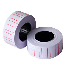5Roll Adhesive Labels Paper Tag Sticker Single Row for Price Gun Labeller New