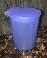 Tupperware Impressions Small Pitcher 1 Liter 4 Cups Rocker Lid