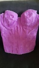 Women's Purple Bustier Corset by Fredericks of Hollywood - Size 36