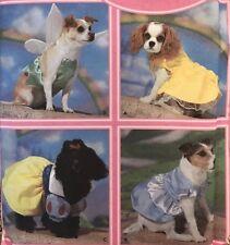 Simplicity 5838 DISNEY PRINCESS BELLE TINK DOG XS-M Costume Sewing Pattern
