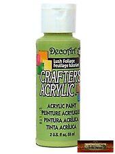 M01452 MOREZMORE DecoArt LUSH FOLIAGE GREEN Crafter's Acrylic Craft Paint IZB
