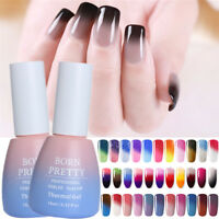 10ml Nail Soak Off UV Gel Polish Color Changing Thermal Gel Varnish Born Pretty