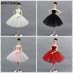 Ballet Dress For Barbie Doll One Piece Party Dress Vestido Cloth For Barbie Doll