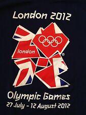 VINTAGE 2012 LONDON OLYMPIC GAMES T SHIRT XL