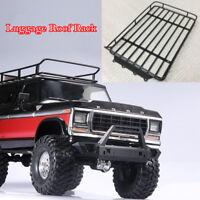 Metal Luggage Roof Rack Bracket for 1/10 Traxxas Trx4 Ford Bronco Axial Scx10 RC