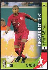 Football Card - Panini UEFA Euro 2008 - No 85 - Turkey - Mehmet Aurelio