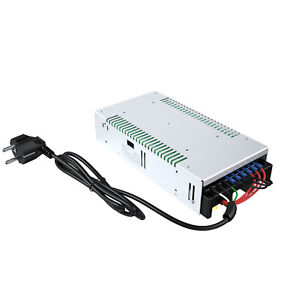 AC 110/220V auf DC 12V Transformator Schaltnetzteil Konverter 12V 50A Adapter DE