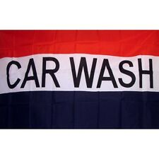 Car Wash Flag Banner Sign 3' x 5' Foot Polyester Grommets