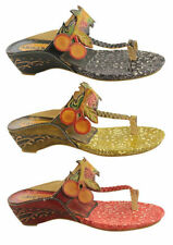 Wedge Medium (B, M) Synthetic Casual Sandals & Flip Flops for Women