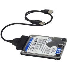 Adattatore 2 Usb Cavo Hard Sata 2,5 Pollici Disk Sata PC HD ej