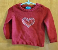 Girl's 12 month The Children's Place sweater Heart Winter