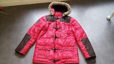 Superbe doudoune manteau rouge idéal sports d'hiver CATIMINI 14 ANS Garçon TBE