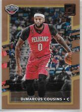 2017-18 Donruss #92 DeMarcus Cousins New Orleans Pelicans