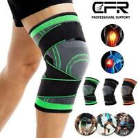Knee Brace Compression Sleeve Meniscus Support Sport Joint Pain Relief Arthritis