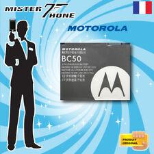 BATTERIE ORIGINE MOTOROLA BC50 V3X SLVR L7 KRZR K1 ROKR E8 RiZR Z3 L2 L6 C261