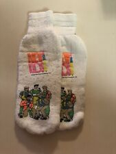 Vintage New Kids on the Block Dick Clark Productions Cartoon Socks