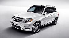 For 10-15 Mercedes Benz X204 GLK350 Aluminium Running Board Side Step OE Style