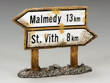 King & Country BBG045 Malmedy Signpost - Thomas Gunn Collectors Showcase PH4