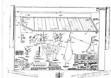 CONCORDE - SET A - Six A2 size Engineering drawings, Flight Deck Windows & Visor
