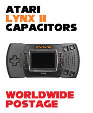 Atari Lynx Model 2 Replacement Capacitors / Complete 20 x Cap Kit / Repair Kit