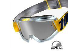 Maschera 100% Occhiali MX MTB DH Motocross Nuovo Accuri Athleto