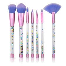 7PCS Mermaid Aquarium No Liquid Glitter Makeup Brush Foundation Cosmetics Newest