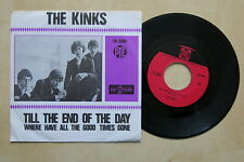 "THE KINKS Till The End Of The Day Orig Dutch 7"" in picture sleeve Pye 1965"
