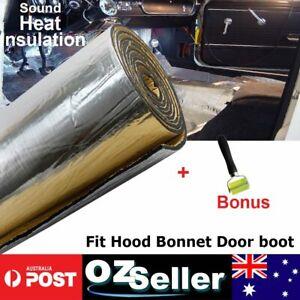 Sound Heat Shield Insulation Deadening 390mil Foam Material 48sqft+Bonus Tools