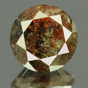 3.47 cts. CERTIFIED Round Brilliant Cut I3 Dark Gray Loose Natural Diamond 18575