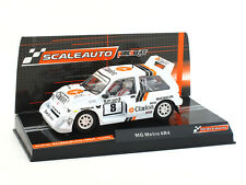 Scaleauto MG Metro 6R4 Clarion 1000 Lakes 1986 ref. SC-6153 1:32 Slot Car
