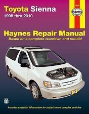 1998- 2010 Toyota Sienna Repair Manual 02 03 2004 2005 2006 2007 2008 2009 0824