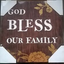 Dayspring God Bless Our Family 12 x 12 Wall Art