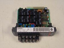 Siemens TI305-01T 8 Point Output Relay Module TI30501T 305-01T 30501T