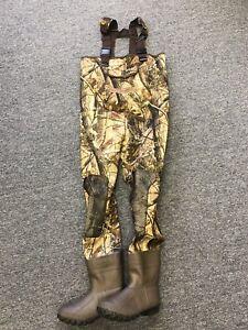 Kobuk Men's 3mm Hardwoods Camo Fishing/Hunting Neoprene Wader Lug Boots Sizes