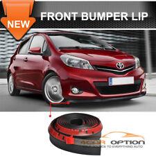 Fits: 100 Inch Toyota Front Bumper Lip Splitter Spoiler Valance Chin Ez